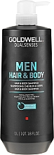 Parfumuri și produse cosmetice Șampon- gel de duș 2 în 1 - Goldwell DualSenses For Men Hair & Body Shampoo