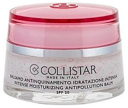 Parfumuri și produse cosmetice Cremă hidratantă de față - Collistar Intense Moisturizing Antipollution Balm SPF20 (tester)