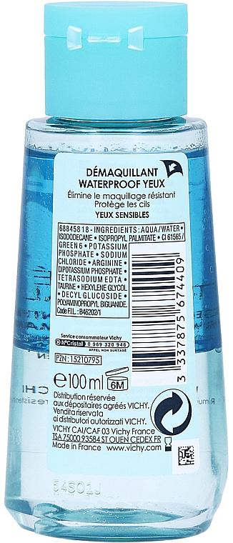 Demachiant de ochi în 2 faze - Vichy Purete Thermale Waterproof Eye Make-Up Remover — Imagine N3