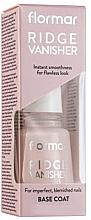 Parfumuri și produse cosmetice Lac-bază pentru unghii - Flormar Ridge Vanisher Base Coat