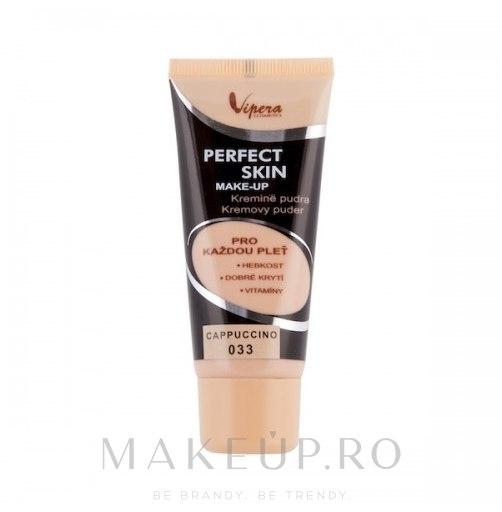 Fond de ten - Vipera Fluid Perfect Skin Make Up (032-Naturalny) — Imagine 033 - Cappuccino