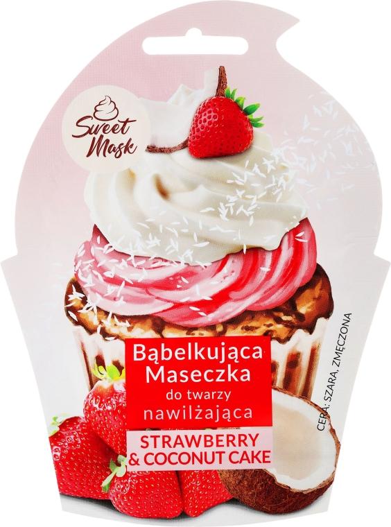 Mască nutritivă pentru față - Marion Sweet Mask Strawberry & Coconut Cream