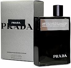 Parfumuri și produse cosmetice Prada Amber Pour Homme Intense - Apă de parfum