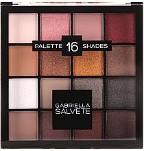 Parfumuri și produse cosmetice Paletă farduri de pleoape - Gabriella Salvete Palette 16 Shades II