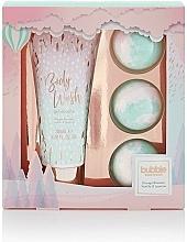 Parfumuri și produse cosmetice Set - Style & Grace Bubble Boutique Bath Bombed Gift Set (b/wash/200ml + 3xb/fizzer/80g)