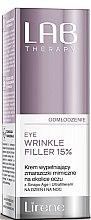 Parfumuri și produse cosmetice Ser pentru picioare - Lirene Lab Therapy Anti Ageing Eye Cream Eye Wrinkle Filler 15%