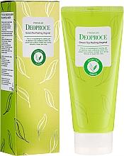 Parfumuri și produse cosmetice Peeling-pastă pe bază de ceai verde - Deoproce Premium Green Tea Peeling Vegetal