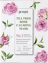 Parfumuri și produse cosmetice Mască facială calmantă - Petitfee&Koelf Tea Tree Rose Calming Mask