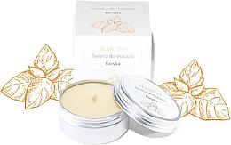 """Parfumuri și produse cosmetice Lumânare pentru masaj """"Busuioc"""" - Almond Cosmetics Basil Space Massage Candle"""