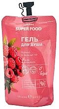 """Parfumuri și produse cosmetice Gel de duș """"Zmeură și Ceai verde"""" - Cafe Mimi Super Food"""
