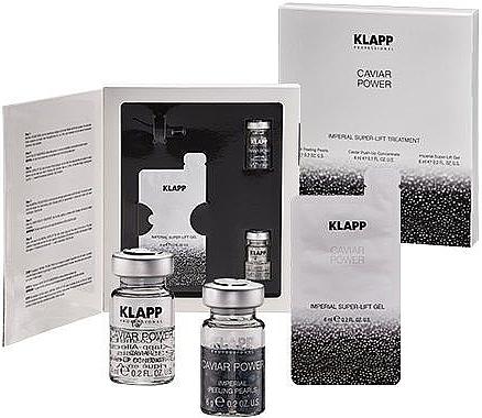 Set - Klapp Caviar Power Imperial Treatment (peel/6g + f/conc/4ml + f/mask/6ml) — Imagine N1