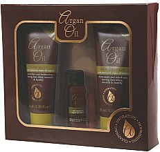 Parfumuri și produse cosmetice Set - Xpel Marketing Ltd Argan Oil (sh/100ml + cond/100ml + oil/30ml)