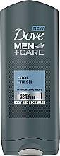 Parfumuri și produse cosmetice Gel de duș - Dove Men+Care Cool Fresh
