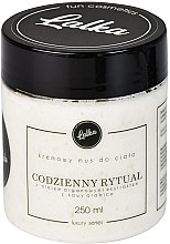 Parfumuri și produse cosmetice Cremă pentru corp cu ulei de argan și extract de cafea - Lalka