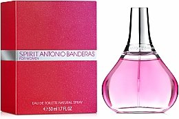 Spirit Antonio Banderas for Woman - Apă de toaletă — Imagine N2