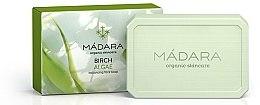 """Săpun normalizator pentru față """"Mesteacăn și Alge marine"""" - Madara Cosmetics Birch & Algae Soap — Imagine N1"""
