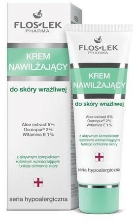 Cremă hidratantă pentru ten sensibil - Floslek Face Cream