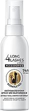 Parfumuri și produse cosmetice Spray antibacterian pentru accesorii cosmetice - Long4Lashes Antibacterial Disinfected Accessories Spray 74% Alcohol