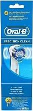 Parfumuri și produse cosmetice Capete pentru periuță electrică de dinți, 2 bucăți - Oral-B Precision Clean