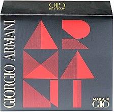 Parfumuri și produse cosmetice Giorgio Armani Acqua di Gio - Set (edt 50ml + a/sh balm 75ml + sh/gel 75ml)