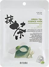 Parfumuri și produse cosmetice Mască din țesătură cu extract de ceai verde pentru față - Mitomo Green Tea Essence Mask