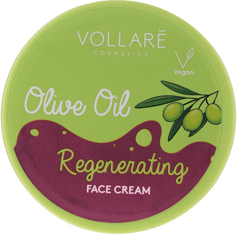 Cremă cu ulei de măsline pentru față - Vollare Regenerating Olive Oil Face Cream
