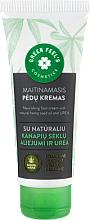 Parfumuri și produse cosmetice Cremă hrănitoare cu ulei natural din semințe de cânepă și uree pentru picioare - Green Feel's Nourishing Food Cream