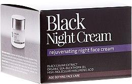 """Parfumuri și produse cosmetice Cremă de noapte pentru față """"Noaptea Neagră"""" - Natura Siberica Fresh Spa Imperial Caviar Black Night Cream"""