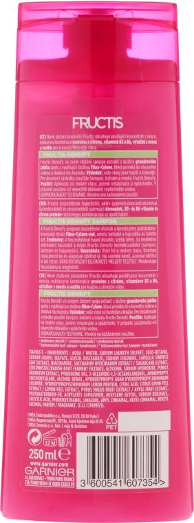 "Șampon ""Păr des și luxos"" - Garnier Fructis Densify — Imagine N2"
