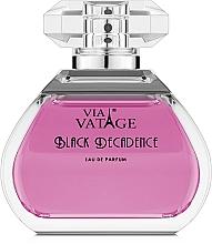 Parfumuri și produse cosmetice Via Vatage Black Decadence - Apă de parfum
