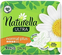 Parfumuri și produse cosmetice Absorbante igienice cu aripioare, 9 buc. - Naturella Ultra Normal Plus