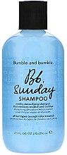 Parfumuri și produse cosmetice Șampon pentru curățarea profundă a părului - Bumble and Bumble Sunday Shampoo