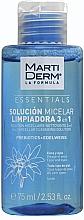 Parfumuri și produse cosmetice Apă micelară - MartiDerm Essentials Micellar Solution Cleanser 3in1