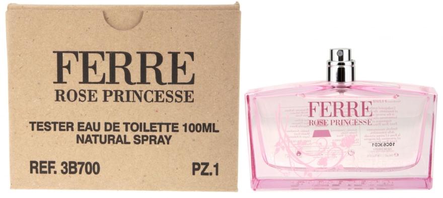 Gianfranco Ferre Rose Princesse - Apă de toaletă (tester fără capac) — Imagine N4
