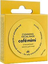 """Parfumuri și produse cosmetice Mască de curățare pentru ten gras și problematic """"Tapioca"""" - Cafe Mimi Cleansing Mask"""