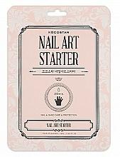 """Parfumuri și produse cosmetice Mască dublă pentru mâini și unghii """"Nutriție și protecție"""" - Kocostar Nail Art Starter"""