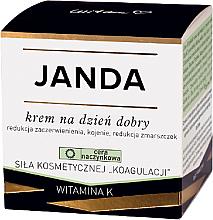 Parfumuri și produse cosmetice Cremă de zi pentru corecția vasculară a pielii - Janda
