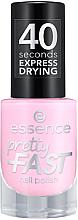 Parfumuri și produse cosmetice Lac de unghii - Essence Pretty Fast Nail Polish