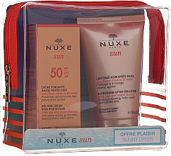 Parfumuri și produse cosmetice Set - Nuxe Sun Set Summer Protection Ritual (cr/50ml + lot/100ml)