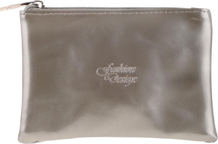 Trusă cosmetică Trusă cosmetică Fashion Design, 97027, argintie - Top Choice — Imagine N1