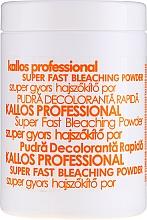 Parfumuri și produse cosmetice Pudră decolorantă pentru păr - Kallos Cosmetics Powder For Hair Bleaching