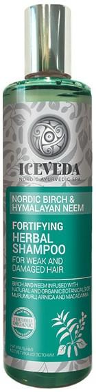 Șampon - Natura Siberica Iceveda Nordic Birch&Hymalayan Neem Fortifying Herbal Shampoo — Imagine N1
