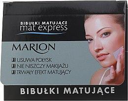 Parfumuri și produse cosmetice Set șervețele matifiante pentru față, 4buc.+1 - Marion Mat Express