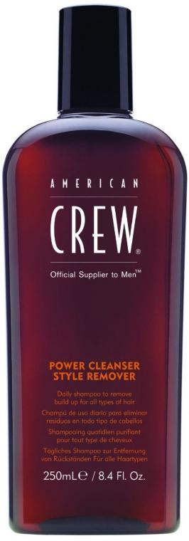 Șampon zilnic pentru curățarea profundă - American Crew Power Cleanser Style Remover — Imagine N1