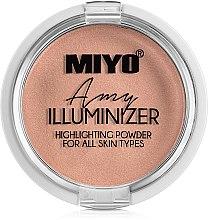 Parfumuri și produse cosmetice Pudra-highlighter - Miyo Illuminizer Highlighting Powder