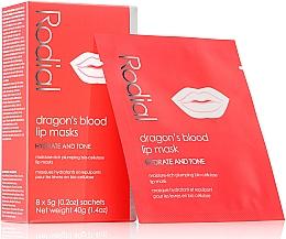 Parfumuri și produse cosmetice Mască-patch pentru buze - Rodial Dragon's Blood Lip Masks