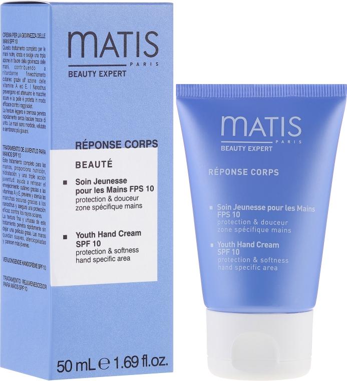 Cremă anti-rid pentru mâini - Matis Paris Reponse Corps Youth Hand Cream SPF10 — Imagine N1