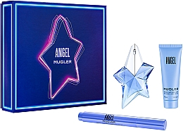 Parfumuri și produse cosmetice Mugler Angel - Set (edp/25ml + edp/ 10ml + b/lot/50ml)