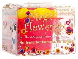 Parfumuri și produse cosmetice Perie de păr - Tangle Teezer Magic Flowerpot Princess Pink