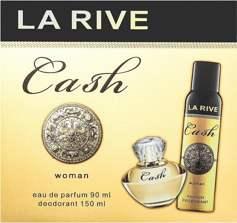 La Rive Cash Woman - Set (edp/90ml + deo/150ml)